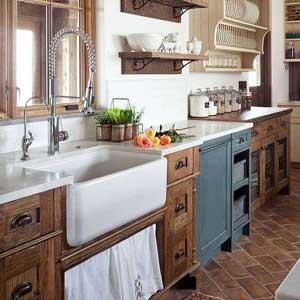 6 ideas para una cocina rústica y moderna